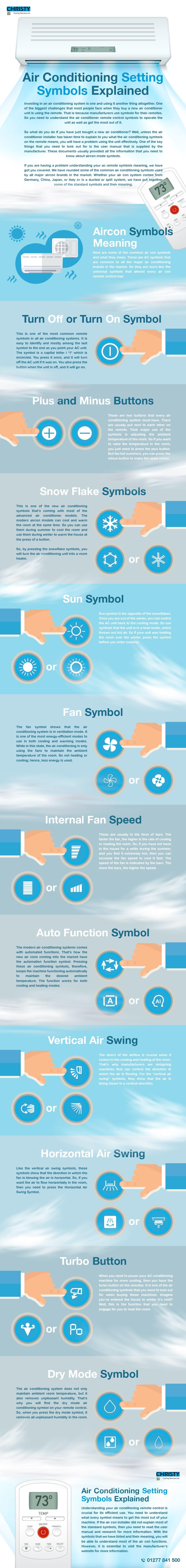 air conditioning symbols